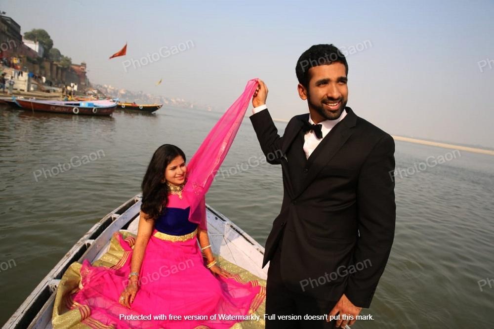 Best Pre Wedding Shoot in Varanasi